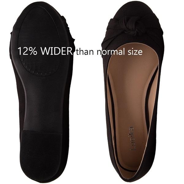 Luoika Women's Shoes flat Closed Toe