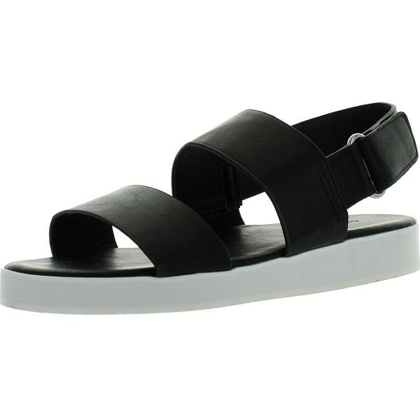 Dollhouse Womens Sport White Sole Dual Strap Fashion Sandals
