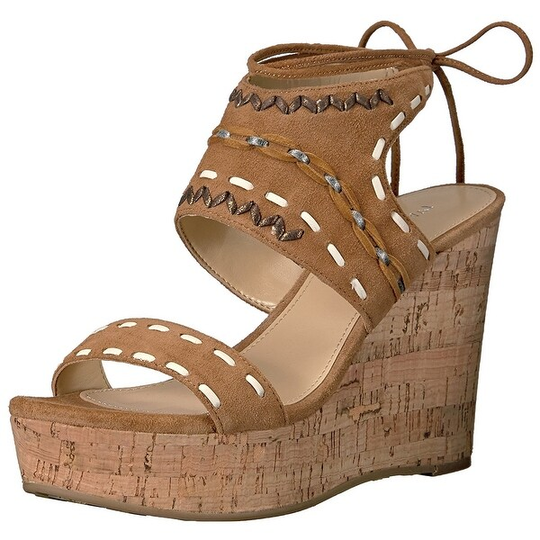 Ivanka Trump Womens ZADER Suede Open Toe Casual Platform Sandals