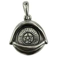 All Seeing Eye Pentagram amulet