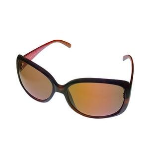 Esprit Womens Sunglass 19306 532 Tortoise Brown Square Plastic, Brown Lens - Medium