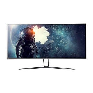 Link to Monoprice 35in Zero-G Curved Ultrawide Gaming Monitor UWQHD 3440x1440p 100Hz VA Similar Items in Monitors
