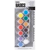 Reeves 428101 Liquitex Basics Acrylic Paint Pots-Assorted Colors