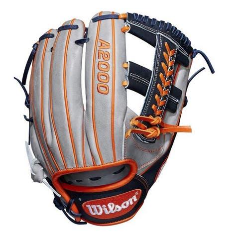 "Wilson Baseball 11.75"" Glove Mitt Infield A2000 Carlos Correa Cross I-Web RHT"