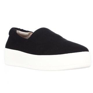 STEVEN by Steve Madden Hilda Slip On Fashion Sneakers, Black