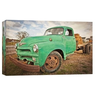 """PTM Images 9-103757  PTM Canvas Collection 8"""" x 10"""" - """"Vintage Pickup Truck 1"""" Giclee Country Life Art Print on Canvas"""