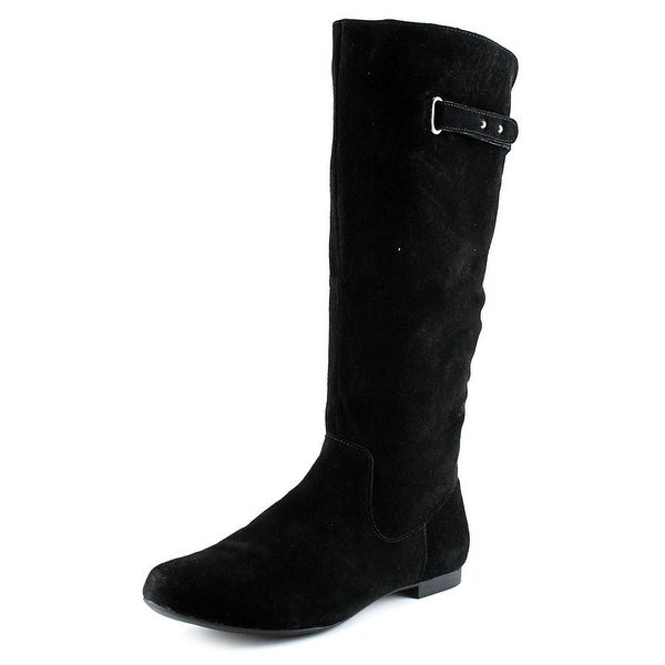 Style & Co Mabbel Round Toe Suede Knee High Boot