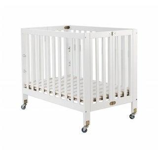 Orbelle Trading 1166W Roxy Three Portable Crib, White