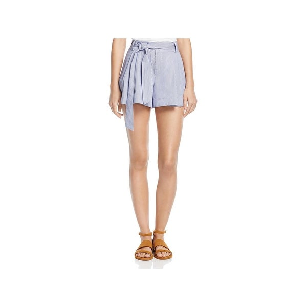 Parker Womens Casual Shorts Double Pleat Belted