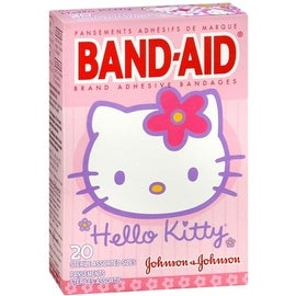BAND-AID Bandages Hello Kitty Assorted Sizes 20 Each