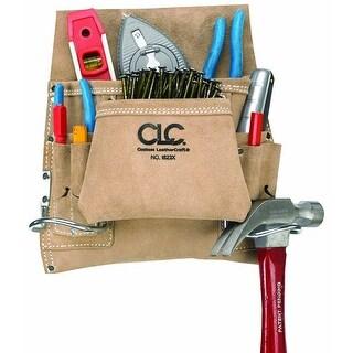 CLC I823X Carpenter's Nail & Tool Bag, 8 Pockets