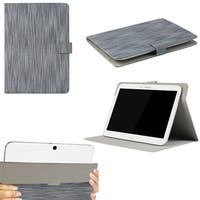 "JAVOedge Classic Stripe Universal 9""-10"" Tablet Case for iPad Air, Samsung Note, Tab 3, Nook HD+ 9, Nexus 10 (Blue)"