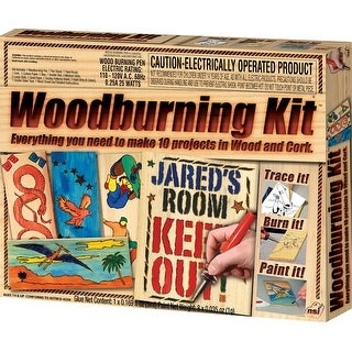 Woodburning Kit For 3D Wood & Cork Projects