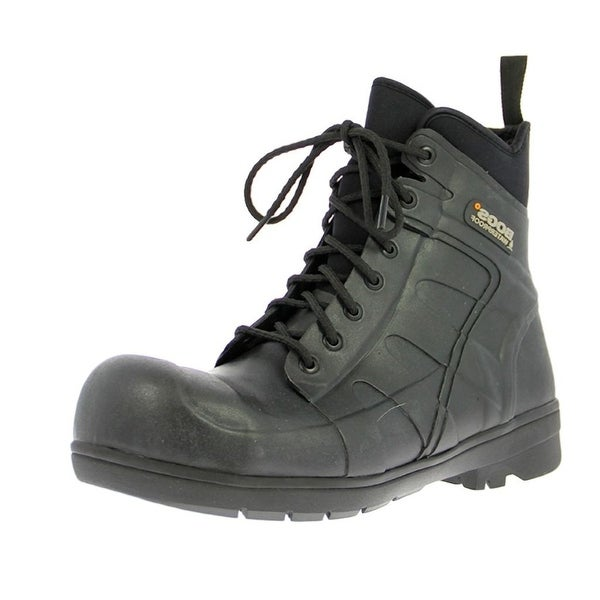 Bogs Outdoor Boots Mens Womens Steel Toe Turf Stomper Rubber
