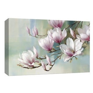 "PTM Images 9-148230  PTM Canvas Collection 8"" x 10"" - ""Magnolia Morning"" Giclee Magnolias Art Print on Canvas"