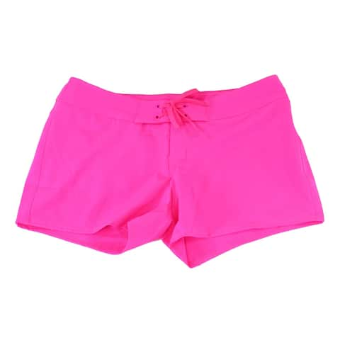 The North Face Pink Womens Size 12 Pacific Creek Board Shorts Swim