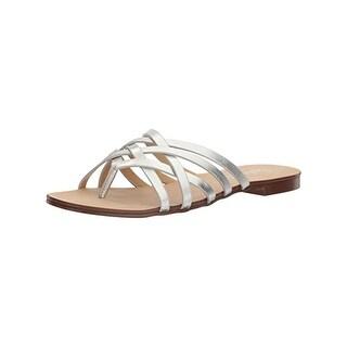 Splendid Womens Jojo Slide Sandals Criss Cross Flats
