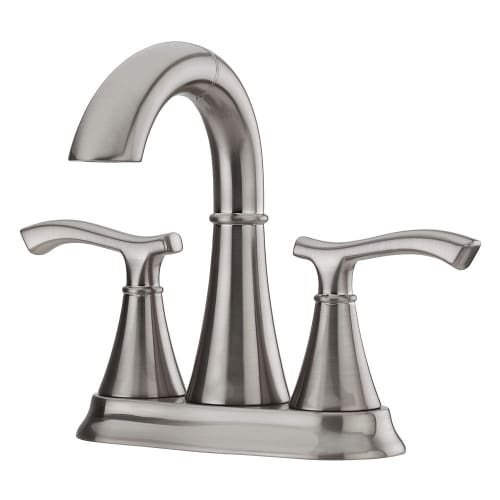 Pfister LF-548-ID Ideal Centerset Bathroom Sink Faucet with Unique Pull Out  Spout and Pop Up Drain - Free Shipping Today - Overstock.com - 22685946