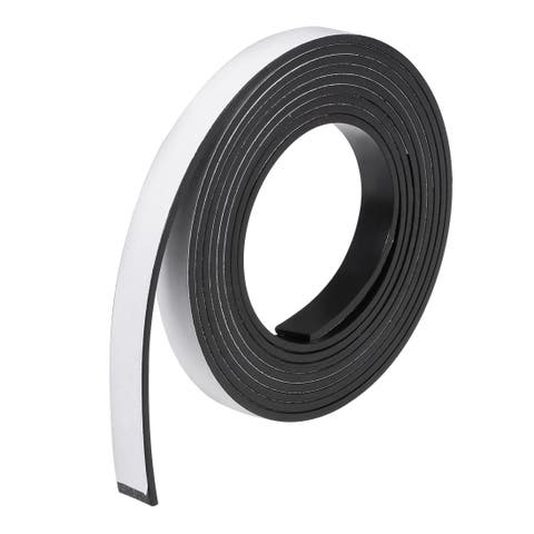 Dry Erase Flexible Magnetic Strip 25/64 Inch x 6.5 Feet Magnetical Tape Stickers