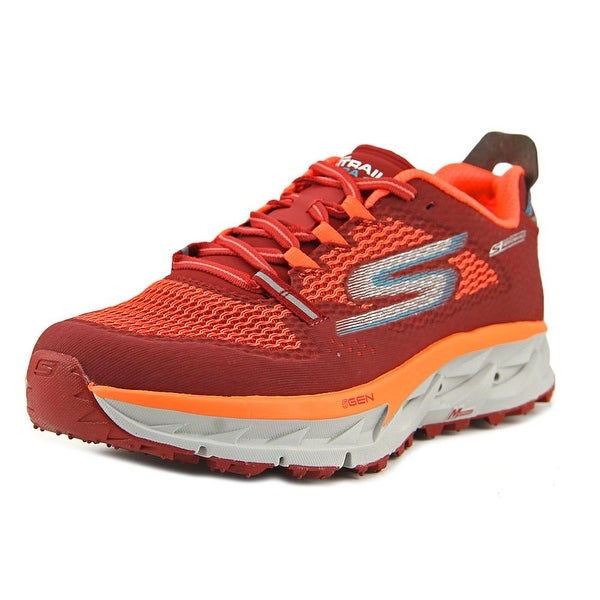 Shop Skechers Go Trail Ultra 4 Men Round Toe Synthetic Red