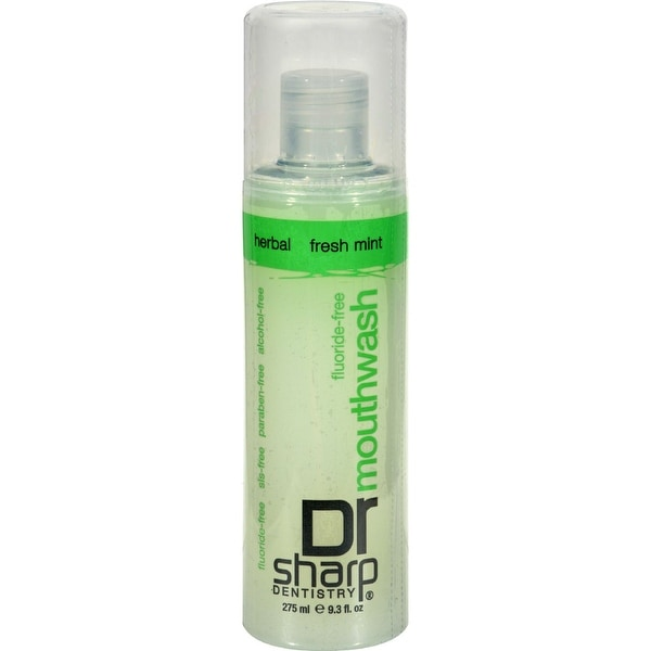 Dr. Sharp Natural Oral Care Mouthwash - Fresh Mint - 9.3 oz