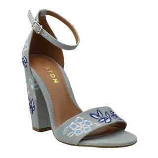Beston Womens Mean-1-SH Open Toe Casual Ankle Strap Sandals