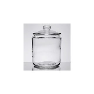 Shop Anchor Hocking 2 5 Gallon Glass Barrel Jar With Brushed