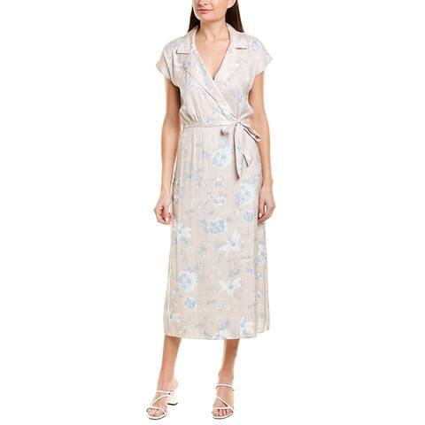 David Lerner Resort Wrap Dress