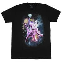 Masters of The Universe Evil Skeletor Riding A Cat Men's T-Shirt