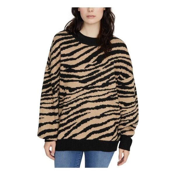 SANCTUARY Black Long Sleeve T-Shirt Sweater M. Opens flyout.