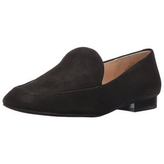Nine West Womens Xalan Leather Closed Toe Loafers