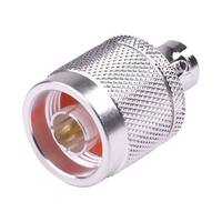 RF Industries - N Male/BNC Female Adapter