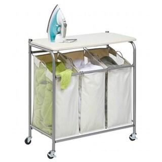 Honey-Can-Do SRT-01196 Ironing And Sorter Combo Laundry Center