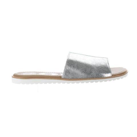 SOREL Womens Ella Vivid Mint Slides Size 8.5