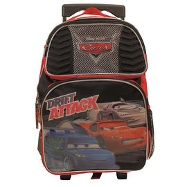 Disney Cars Drift Attack Large Rolling Backpack