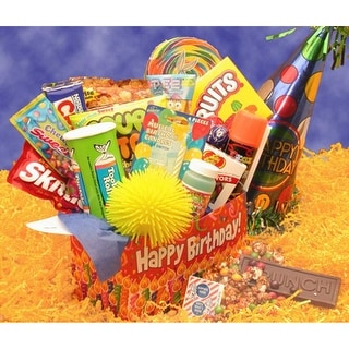 Link to Deluxe Happy Birthday Care Package Similar Items in Gourmet Food Baskets