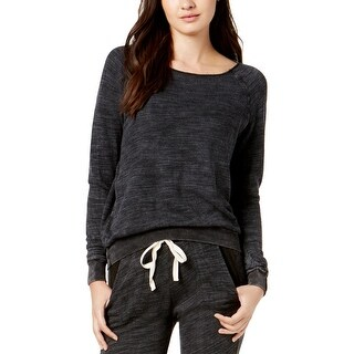 Project Social T Womens Sweatshirt Raw-Edge Slub - m