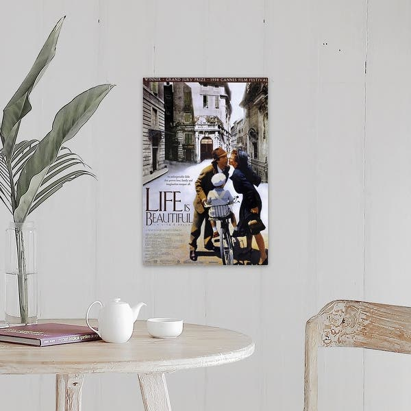 Shop Life Is Beautiful 1998 Canvas Wall Art Overstock 24135650
