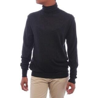 Valentino Long Sleeve Turtleneck Basic Sweater Women Regular Sweater