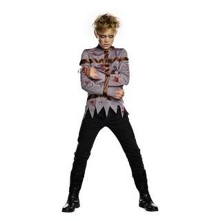 Boys' Dark Straight Jacket Costume