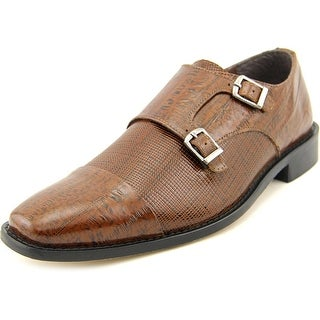 Stacy Adams Gardello Men Round Toe Leather Brown Loafer