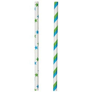 "Blue & Green 6"" 30/Pkg - Lollipop Sticks"