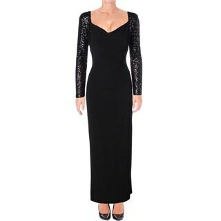 Ralph Lauren Womens Formal Dress Sequined Jersey