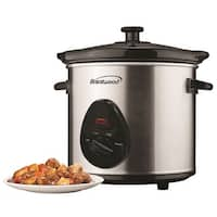 Brentwood Sc-130S 3 Quart Slow Cooker - Stainless Steel