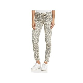 7 For All Mankind Womens Ankle Jeans Printed Skinny - 28