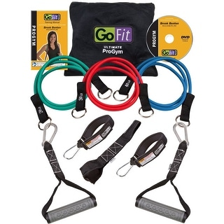 GoFit Ultimate Pro Gym in a Bag with Training DVD