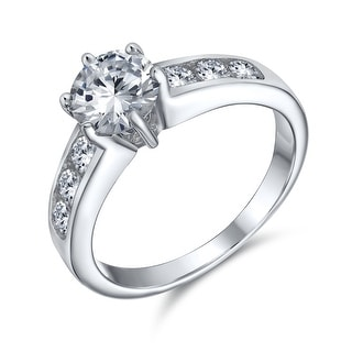 Link to 2CT Solitaire AAA CZ 6 Prong Engagement Ring 925 Sterling Silver Similar Items in Rings