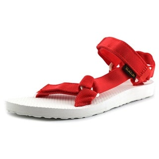 Teva Original Universal Sport Women Open-Toe Canvas Red Sport Sandal
