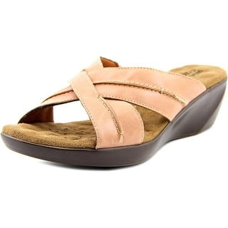 Walking Cradles Chase WW Open Toe Leather Sandals