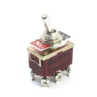 Shop Panel Mount 6 Pin 2PDT ON/OFF 2 Position Toggle Switch